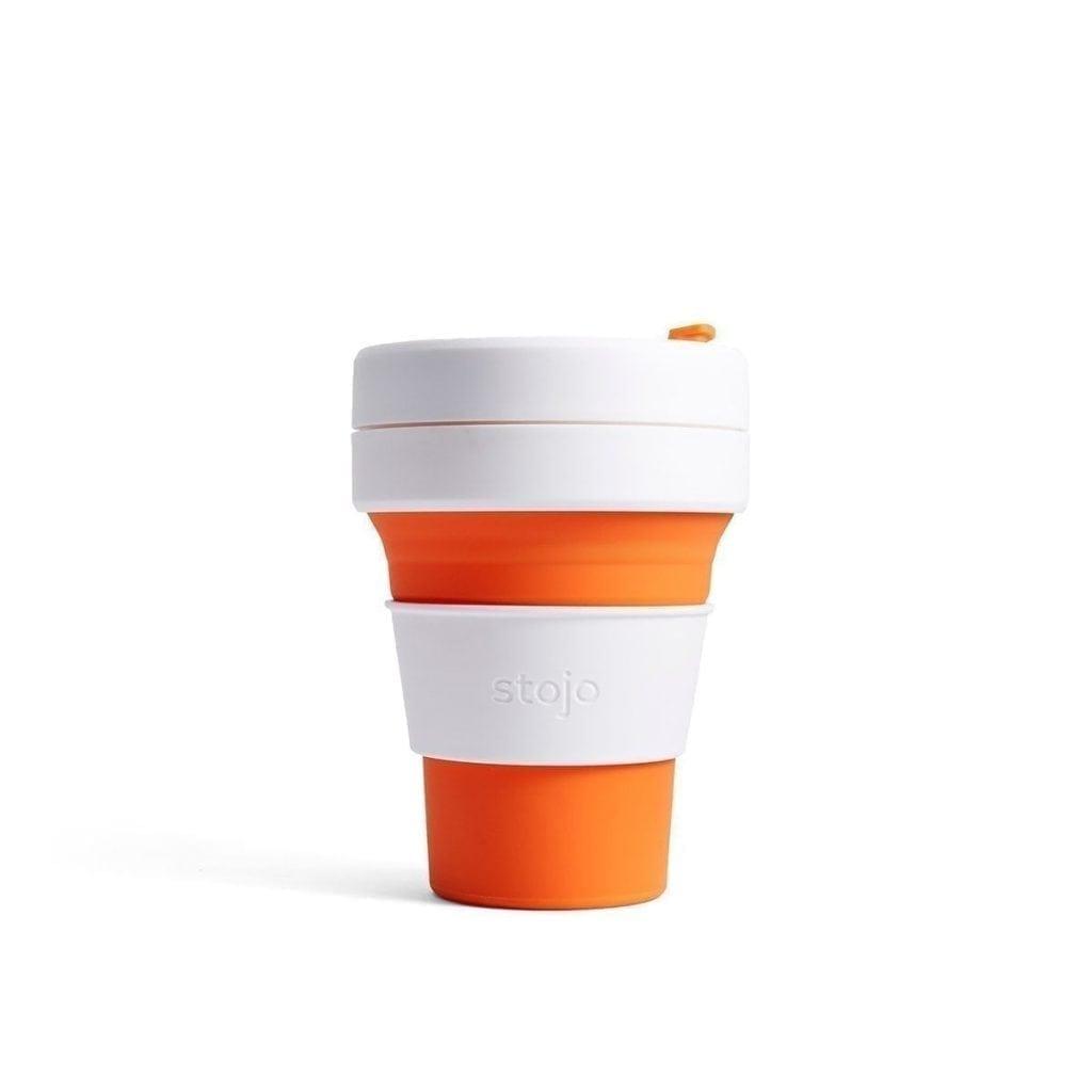 Stojo Pocket Cup (Orange)