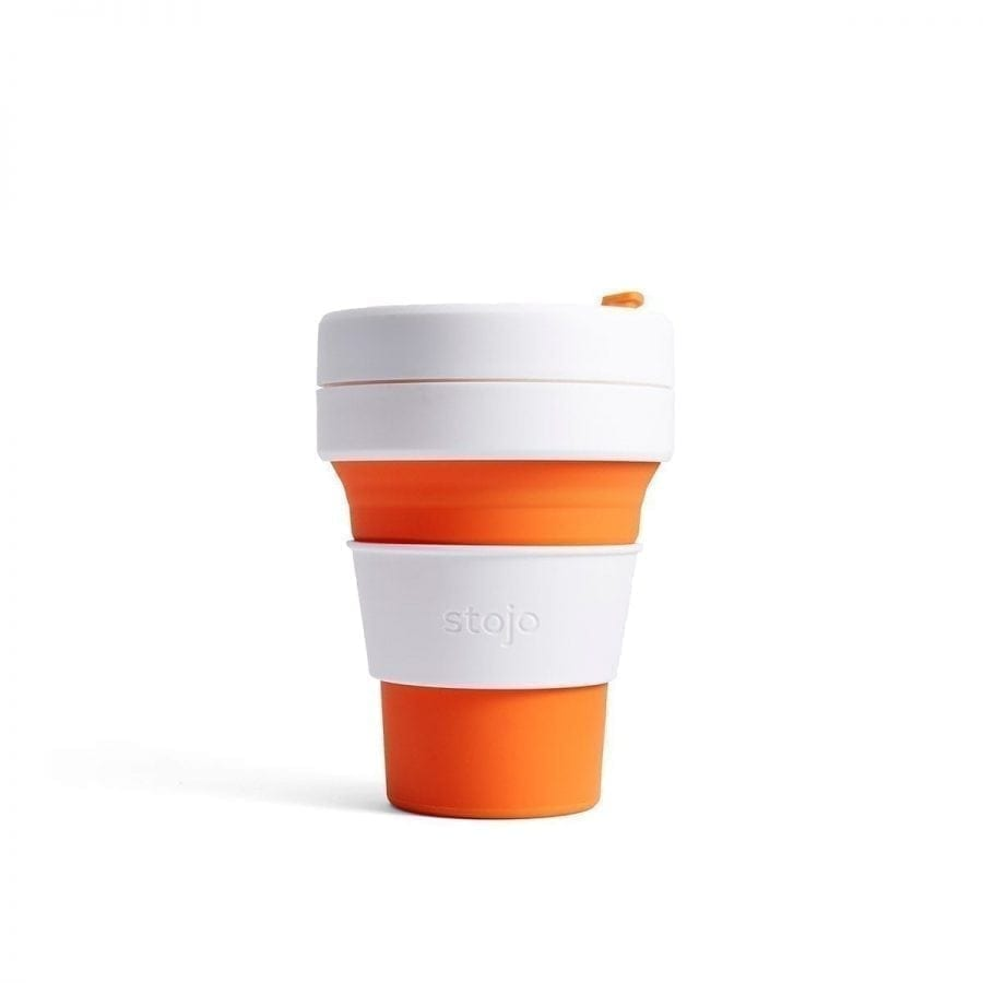Stojo Pocket Cup (Orange)