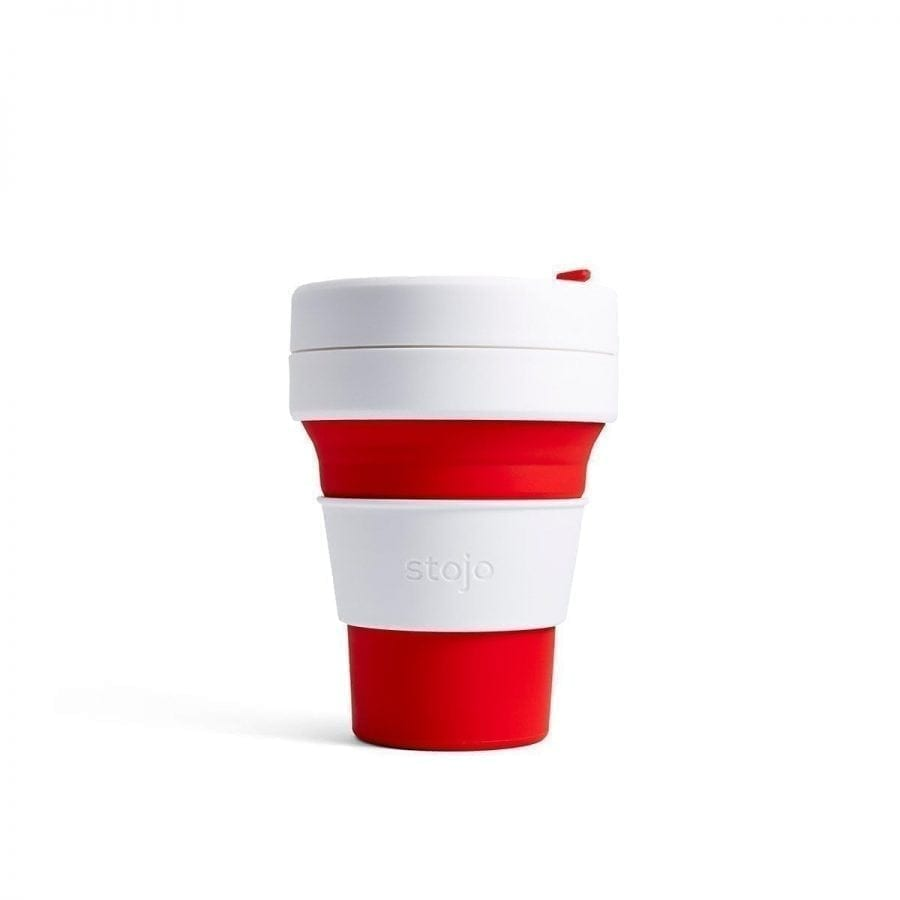 Stojo Pocket Cup (Red)