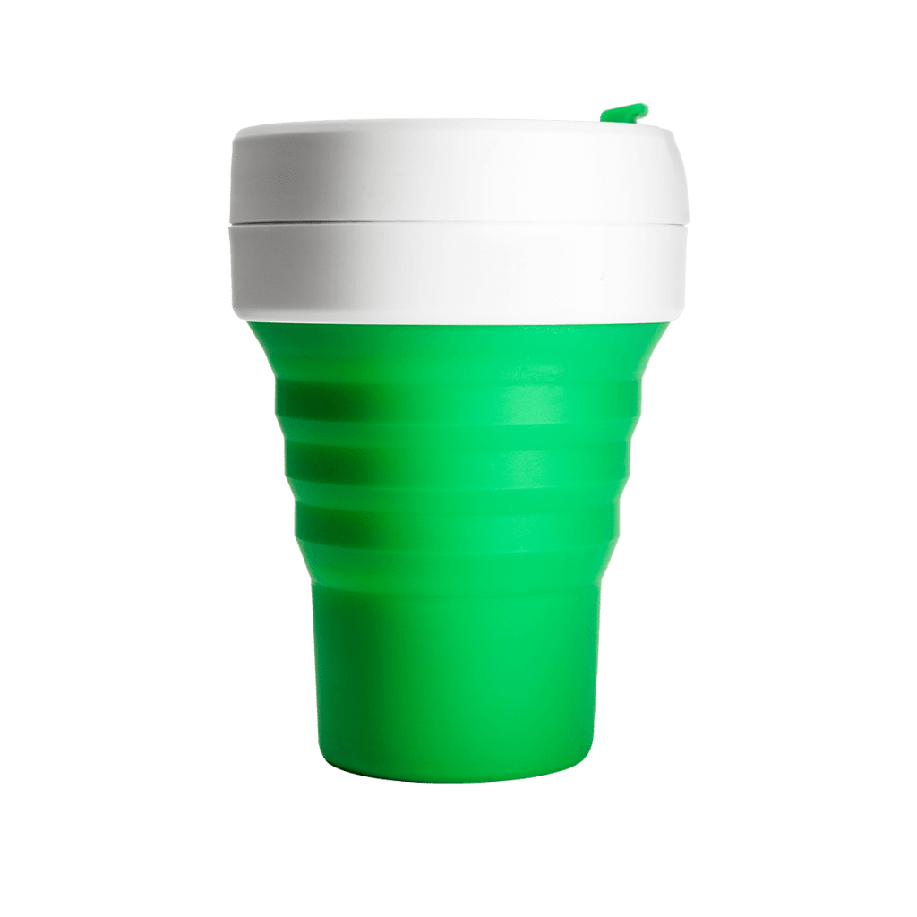 Stojo Pocket Cup (Green)